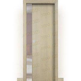 Puertas Baratas y Accesorios para puertas:  Puerta Corredera con Obra Mod. Islandia roble tierra