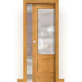Puertas Baratas y Accesorios para puertas:  Puerta Corredera con Obra Mod. Machu Picchu V1