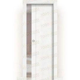 Puertas Correderas de Madera:  Puerta Corredera con Obra Mod. Pekín