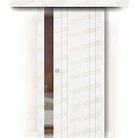Puertas de Interior de Madera:  Puerta Corredera sin Obra Mod. Castellón