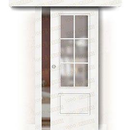 Puertas Baratas y Accesorios para puertas:  Puerta Corredera sin Obra Mod. Gabón V6