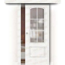 Puertas Baratas y Accesorios para puertas:  Puerta Corredera sin Obra Mod. Ghana V6