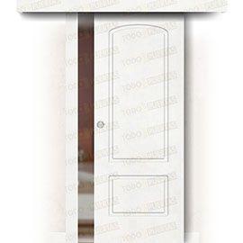 Puertas Correderas de Madera:  Puerta Corredera sin Obra Mod. Ghana