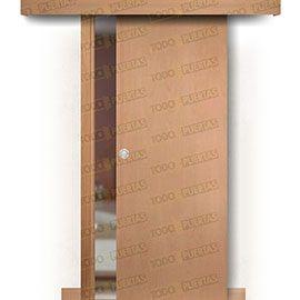 Puertas Baratas y Accesorios para puertas:  Puerta Corredera sin Obra Mod. Islandia Haya