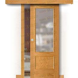 Puertas Baratas y Accesorios para puertas:  Puerta Corredera sin Obra Mod. Machu Picchu V1