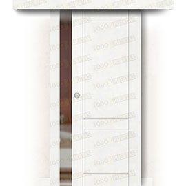 Puertas Correderas de Madera:  Puerta Corredera sin Obra Mod. Songo