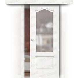 Puertas Correderas de Madera:  Puerta Corredera sin Obra Mod. Togo ZV1