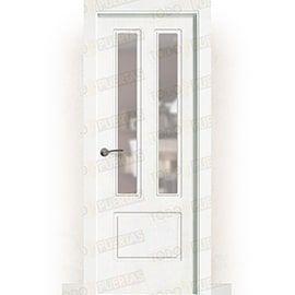 Puertas Lacadas Blancas:  Puerta Block Maciza Lacada Blanca Mod. Bagan v