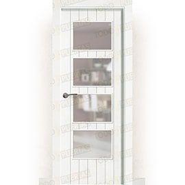 Puertas Baratas y Accesorios para puertas:  Puerta Block Maciza Lacada Blanca Mod. Cádiz BV4