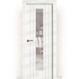 Puertas Baratas y Accesorios para puertas:  Puerta Block Maciza Lacada Blanca Mod. Castellón V1C