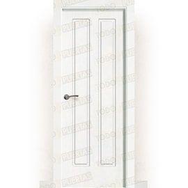 Puertas Baratas y Accesorios para puertas:  Puerta Block Maciza Lacada Blanca Mod. Chopin