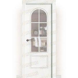 Puertas Baratas y Accesorios para puertas:  Puerta Block Maciza Lacada Blanca Mod. Gambia ZV6