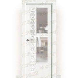 Puertas Baratas y Accesorios para puertas:  Puerta Block Maciza Lacada Blanca Mod. Grecia V2