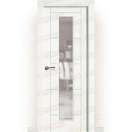 Puertas Baratas y Accesorios para puertas:  Puerta Block Maciza Lacada Blanca Mod. Guevara V1C