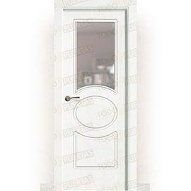 Puertas Baratas y Accesorios para puertas:  Puerta Block Maciza Lacada Blanca Mod. Guinea ZV1