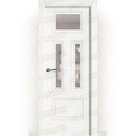 Puertas Baratas y Accesorios para puertas:  Puerta Block Maciza Lacada Blanca Mod. kabul v3