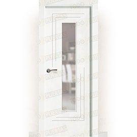 Puertas Baratas y Accesorios para puertas:  Puerta Block Maciza Lacada Blanca Mod. laos zv1c