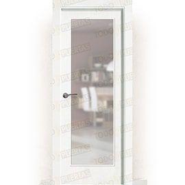 Puertas Baratas y Accesorios para puertas:  Puerta Block Maciza Lacada Blanca Mod. Marruecos V1