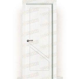 Puertas Baratas y Accesorios para puertas:  Puerta Block Maciza Lacada Blanca Mod. Marruecos