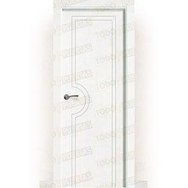 Puertas Baratas y Accesorios para puertas:  Puerta Block Maciza Lacada Blanca Mod. Mombasa
