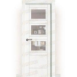 Puertas Lacadas Blancas:  Puerta Block Maciza Lacada Blanca Mod. Oisa bzv3