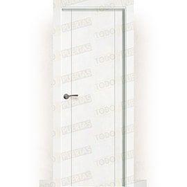 Puertas Baratas y Accesorios para puertas:  Puerta Block Maciza Lacada Blanca Mod. Pekín
