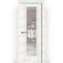 Puertas Lacadas Blancas:  Puerta Block Maciza Lacada Blanca Mod. Portonovo V1