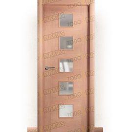 Puertas Baratas y Accesorios para puertas:  Puerta Block de Alta Calidad Mod. Bratislava Haya BV5C