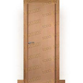 Puertas Lisas Modernas de Interior:  Puerta Block de Alta Calidad Mod. Islandia Haya