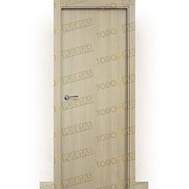 Puertas Lisas Modernas de Interior:  Puerta Block de Alta Calidad Mod. Islandia roble tierra