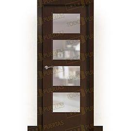Puertas Baratas y Accesorios para puertas:  Puerta Block de Alta Calidad Mod. Islandia Wengue BV4