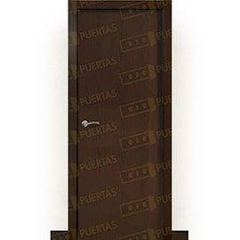 Puertas de Interior de Madera:  Puerta Block de Alta Calidad Mod. Islandia Wengue