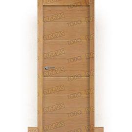 Puertas Lisas Modernas de Interior:  Puerta Block de Alta Calidad Mod. Montana Haya