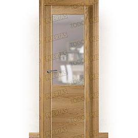 Puertas de Interior de Madera:  Puerta Block de Alta Calidad Mod. Oporto Grecado Bl Roble ZV1