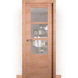 Puertas Baratas y Accesorios para puertas:  Puerta Block de Alta Calidad Mod. Oporto Haya BZV3