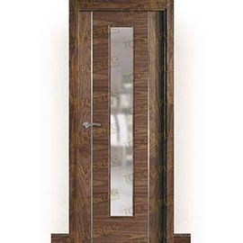 Puertas Baratas y Accesorios para puertas:  Puerta Block de Alta Calidad Mod. Oporto nogal aluminio v1c