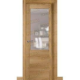 Puertas de Interior de Madera:  Puerta Block de Alta Calidad Mod. Oporto Roble ZV1