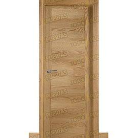 Puertas Lisas Modernas de Interior:  Puerta Block de Alta Calidad Mod. Oporto Roble