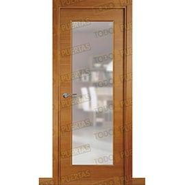 Puertas de Interior de Madera:  Puerta Block de Alta Calidad Mod. Palermo pino tenida miel v1