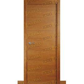 Puertas Baratas y Accesorios para puertas:  Puerta Block de Alta Calidad Mod. Palermo pino tenida miel