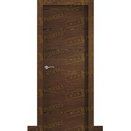 Puertas Baratas y Accesorios para puertas:  Puerta Block de Alta Calidad Mod. Palermo roble tenida nogal