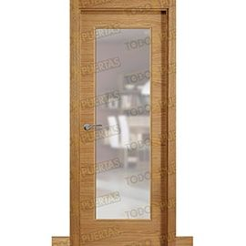 Puertas Baratas y Accesorios para puertas:  Puerta Block de Alta Calidad Mod. Palermo Roble V1