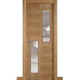 Puertas de Interior de Madera:  Puerta Block de Alta Calidad Mod. Sudáfrica V2
