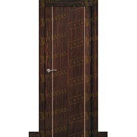 Puertas Lisas Modernas de Interior:  Puerta Block de Alta Calidad Mod. Suecia G2B ebano