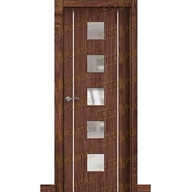 Puertas de Interior de Madera:  Puerta Block de Alta Calidad Mod. Suecia G2B Nogal BV5C