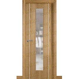 Puertas de Interior de Madera:  Puerta Block de Alta Calidad Mod. Suecia G2B roble v1c