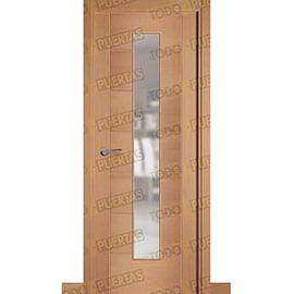Puertas Baratas y Accesorios para puertas:  Puerta Block de Alta Calidad Mod. Támesis Haya V1C