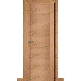 Puertas Baratas y Accesorios para puertas:  Puerta Block de Alta Calidad Mod. Támesis Haya