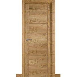 Puertas Baratas y Accesorios para puertas:  Puerta Block de Alta Calidad Mod. Támesis ROBLE