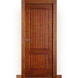Puertas Rústicas de Interior:  Puerta Block Maciza Mod. Aguadulce